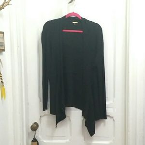 Medium ☆ Dana Buchman Black Glitter Cardigan